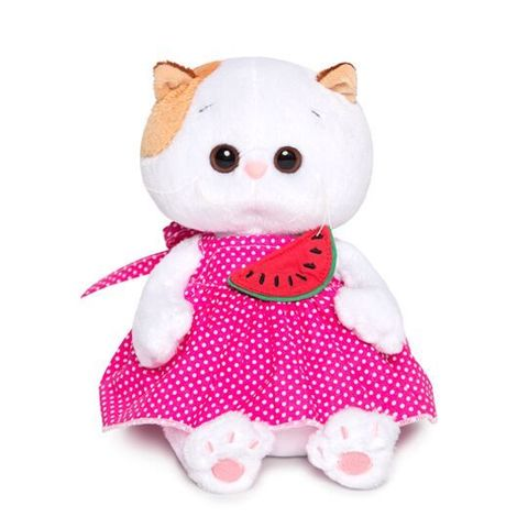 Ли-Ли Baby в розовом сарафане и с арбузиком