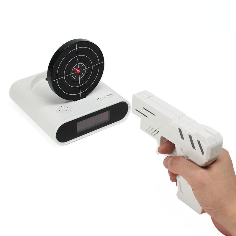Товары на Маркете Будильник с мишенью Gun Alarm Clock gun_alarm.jpg