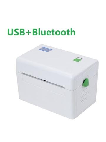 Термальный принтер этикеток XPrinter XP-DT108B (USB + Bluetooth) белый