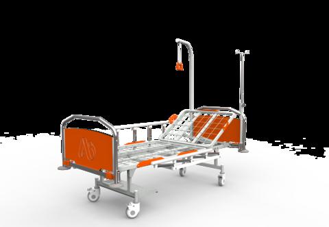 Кровать медицинская функциональная КФ-2 премиум - фото