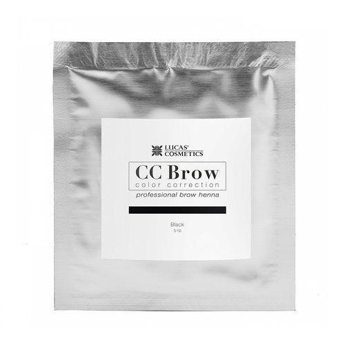 Хна для бровей CC Brow 5гр в саше Black Черный