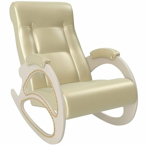Кресло-качалка Комфорт Модель 4 дуб шампань/Oregon perlamutr 106