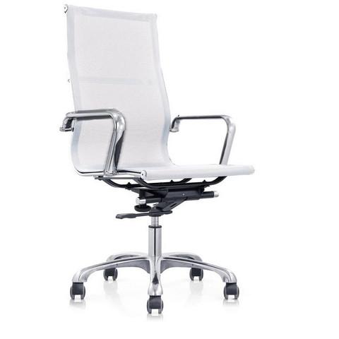 Кресло для руководителя Easy Chair 702 T NET белое (сетка/металл)