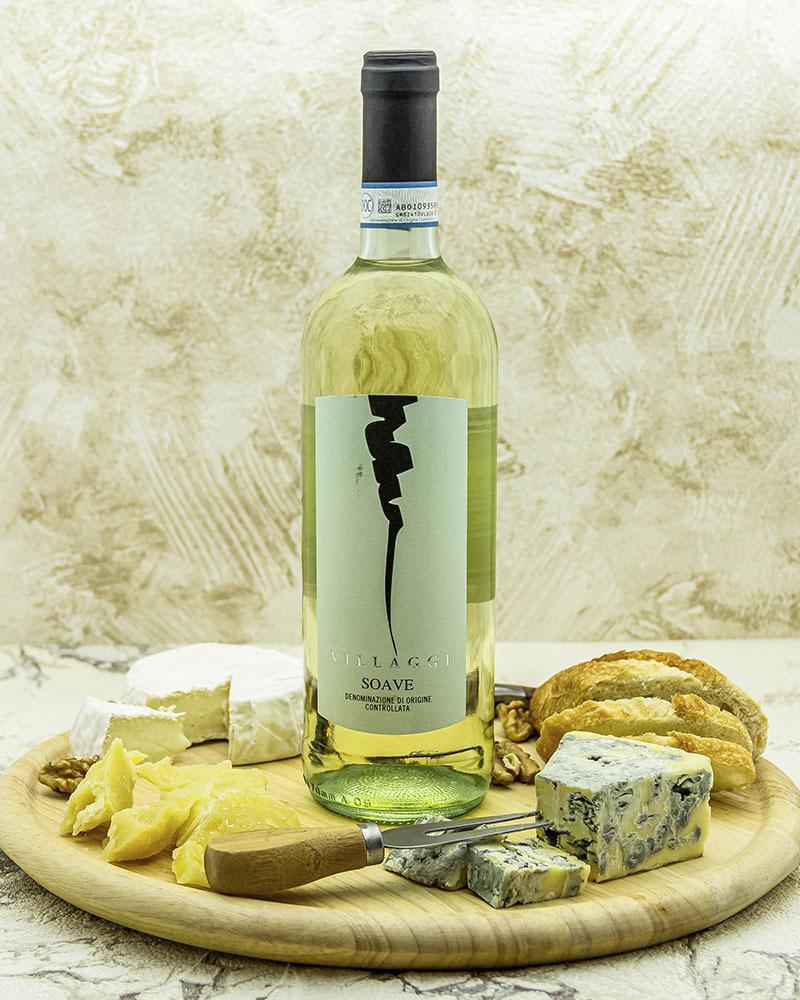 Вино Pirovano Вилладжи Соаве Белое Сухое 2018 г.у. 11,5% 0,75 л.