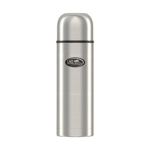 Термос Biostal Охота (1 литр), 2 чашки, с ситечком, стальной