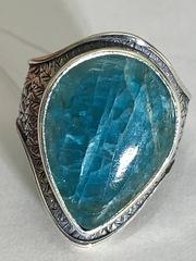 Птица (кольцо  из серебра)