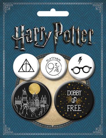 Набор значков «Гарри Поттер» (оф. 2)