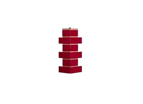 Угол наружный Модерн - Красный