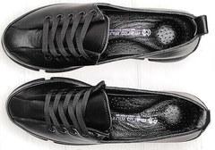 Модные женские туфли кроссовки демисезонные Mario Muzi 1350-20 Black.