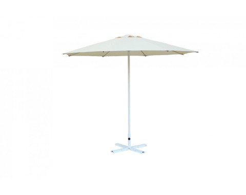 Зонт Ø 3,0 м (8) без волана (алюминевый каркас с подставкой, тент OXF 300D) ПК