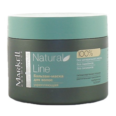 Markell Natural Line Бальзам-маска укрепляющая 290г