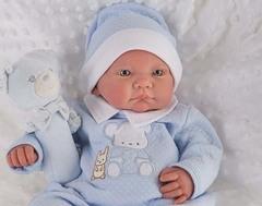 Munecas Antonio Juan Кукла младенец Реборн Виктория 40см (8123B)