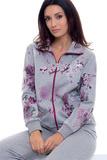Теплый женский костюм с цветами B&B