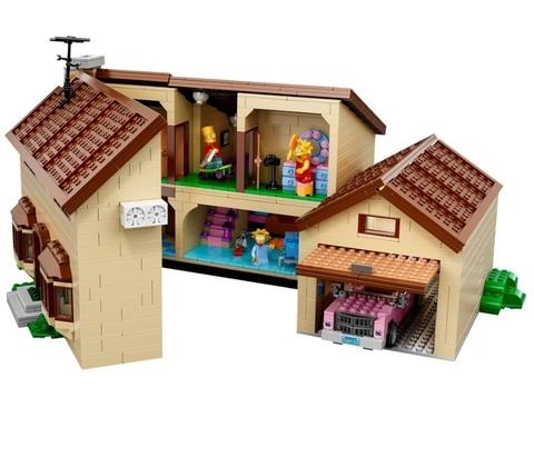 LEGO Simpsons: Дом Симпсонов 71006 — The Simpsons House — Лего Симпсоны