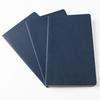 Набор 3 блокнота Moleskine Cahier Journal Large, 80 стр., бежевый, в линейку