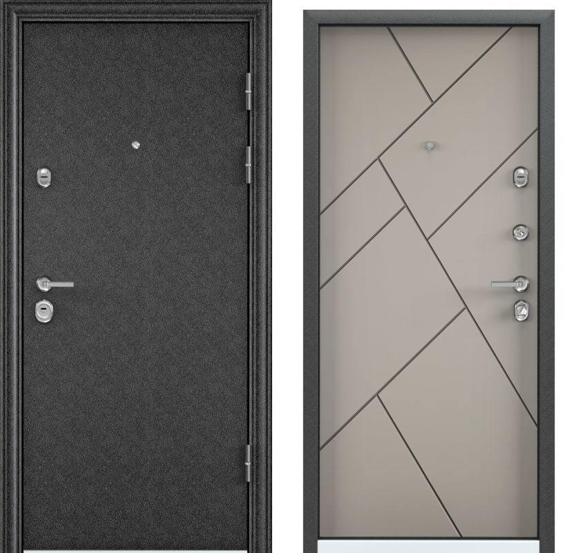 Входные двери Torex Ultimatum M MP чёрный шёлк KB-35 кремовый ликёр generated_image-3.jpg