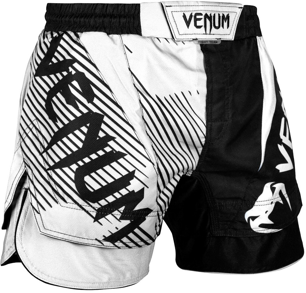 Шорты Шорты Venum NoGi 2.0 Fightshorts Black/White 1.jpg
