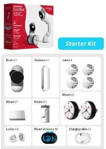 Модульный робот ClicBot. Набор Starter Kit