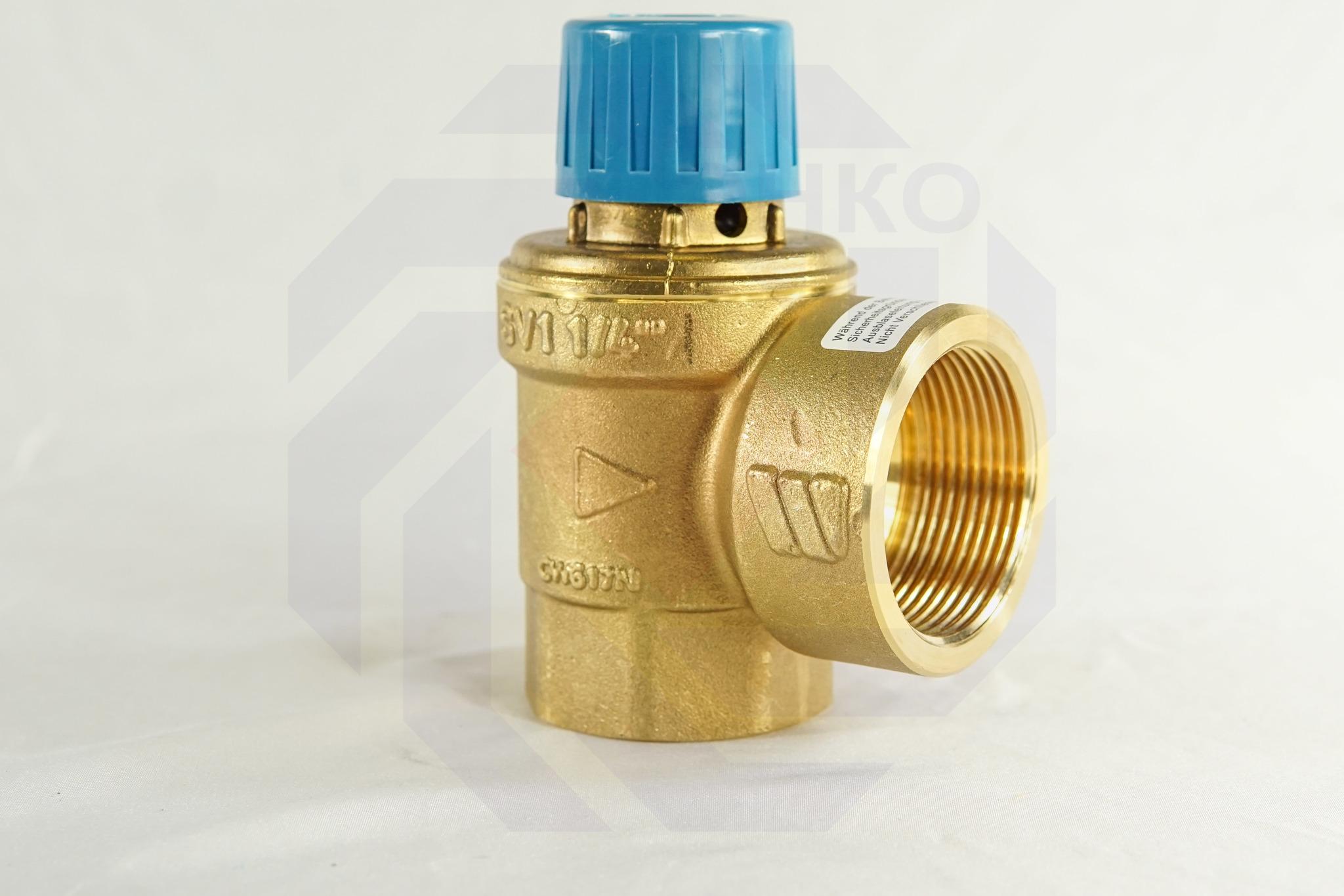 Клапан предохранительный WATTS SVW 6 бар 1¼