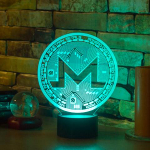 3D светильник Monero (Монеро)