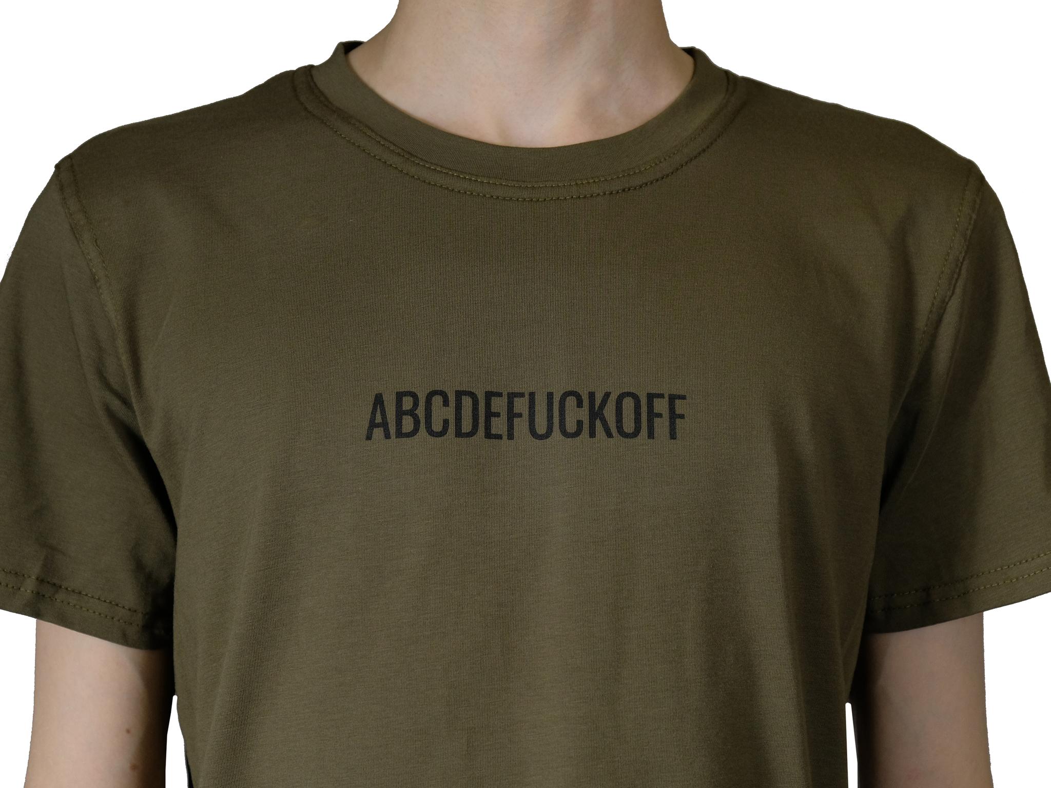 "Футболка STRESS ""ABCDEFUCKOFF"""