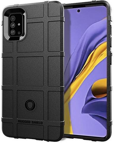 Чехол для Samsung Galaxy A51 (M40S) цвет Black (черный), серия Armor от Caseport