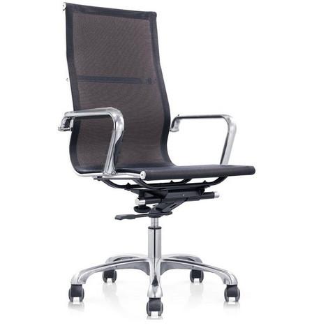 Кресло для руководителя Easy Chair 702 T NET черное (сетка/металл)
