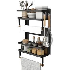 Кухонная стойка-органайзер магнитный на холодильник