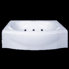 Ванна акриловая Bas Фиеста 194х90х71,5 прямоугольная, с каркасом и гидромассажем