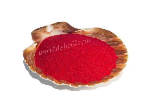 Красный цветной песок 300 гр.