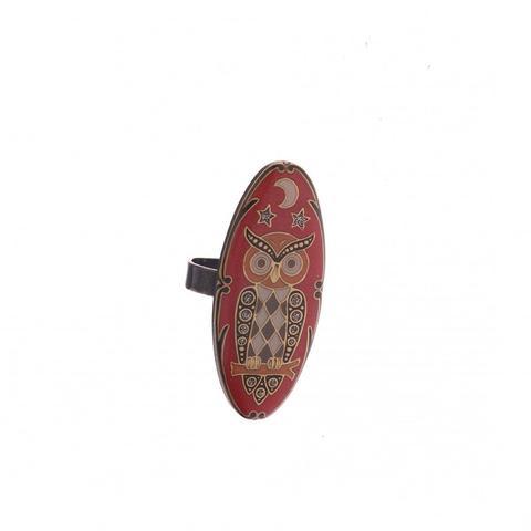 Кольцо сова K27968.18 R