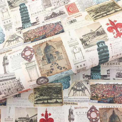 Бумага подарочная декоративная Флоренция