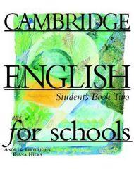 Cambridge English for Schools 2 Student's Book