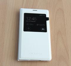 Чехол-ресивер Wireless Charging S-View cover для Galaxy S5