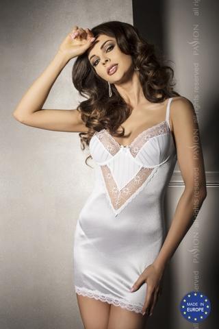Чувственное  платье  с кружевными вставками  и трусики ANGIE S/M 12989PAS