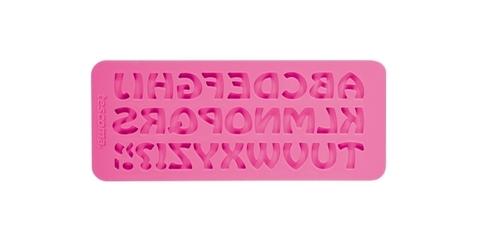 Силиконовые формочки Tescoma DELICIA DECO, алфавит ретро