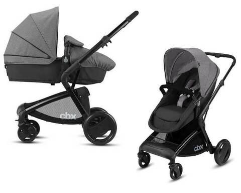 Детская коляска 2 в 1 CBX by Cybex Bimisi Pure Comfy Grey
