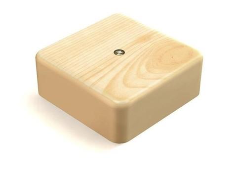 Коробка распаячная КР 75х75х20 ОП сосна IP40 TDM