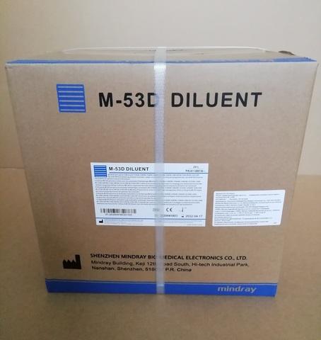 A11-000136 Дилюент /Разбавитель изотонический M-53D diluent (20л) для ВС /Shenzhen Mindray Bio-Medical Electronics Co., Ltd. (Шэньчжэнь Майндрэй Био-Медикал Электроникс Ко., Лтд.), Китай