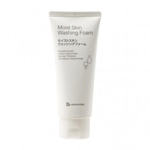 Bb Laboratories Глубокое очищение: Пенка очищающая плацентарная с увлажняющим эффектом (Moist Skin Washing Foam), 100г