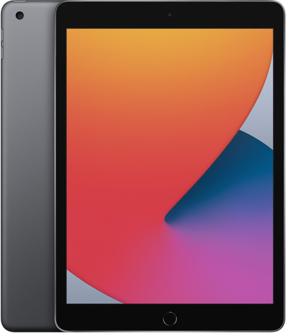 Планшет Apple iPad (2020) 128Gb Wi-Fi (Space Gray) (MYLD2RU/A)