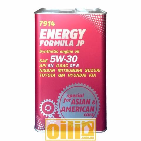 Mannol 7914 ENERGY FORMULA JP 5W-30 4л