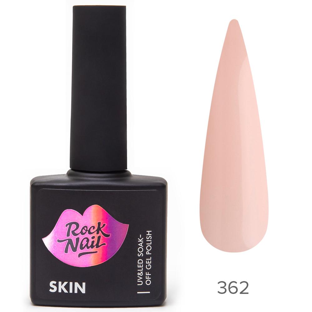 Гель-лак RockNail 362 Peachy Skin 10мл