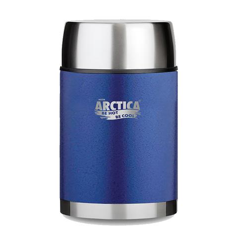 Термос для еды Арктика (0,8 литра) с супер-широким горлом, синий