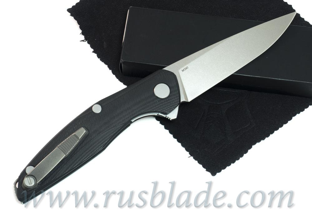 Shirogorov 111 M390 G10 black - фотография