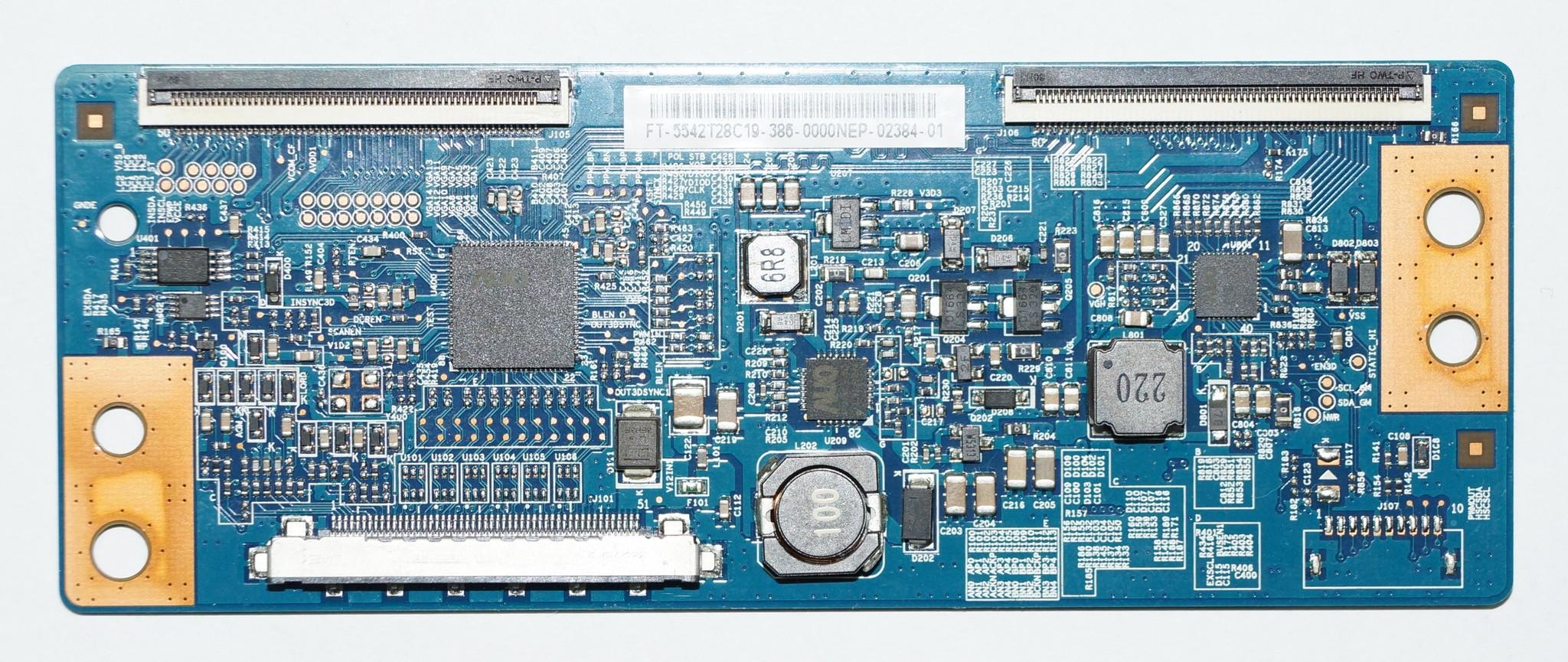 T-con 50T10-C00 T500HVD02.0 CTRL BD FT-5542T28C19-38C-0000NAP-02992-01 телевизора LG