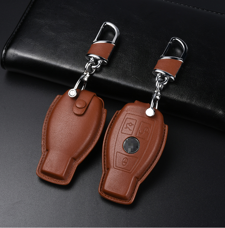 Кожаный чехол для ключа Mercedes-Benz