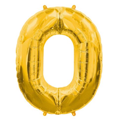 Цифры Золото, 102 см