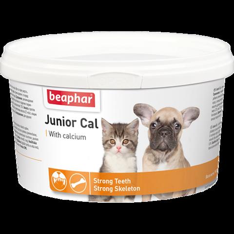 Beaphar Кормовая добавка Junior Cal для котят и щенков 200 г