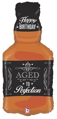 Фольгированный шар Бутылка Виски